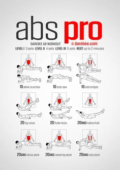 Ab Pro Workout | Posted By: CustomWeightLossProgram.com