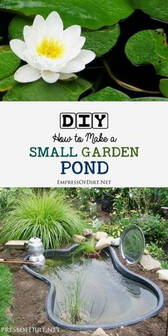 This advice is intended for anyone installing a small (under 1000 gallons - about the size of hot tub or less) prefab garden pond or other little container pond on a patio or balcony. I've had several different types of ponds over the years, an Outdoor Ponds, Ponds Backyard, Garden Ponds, Garden Art, Koi Ponds, Garden Design, Backyard Waterfalls, Outdoor Fountains, Landscape Design
