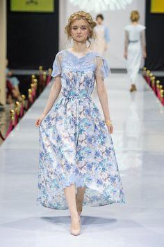 Шелковое платье из серии Flower Power