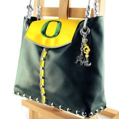 Happy birthday  from the Oregon Duck | Oregon Ducks Green Tote | Made In Oregon