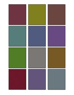 Templates for Albers Color Studies - Lighter and/or darker