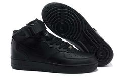 buy popular 1299a 29de8 air force one nike homme air force 1 mid noir