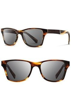 66e57a53a6c3 Accessoires   Shwood Canby 53mm Wood Sunglasses