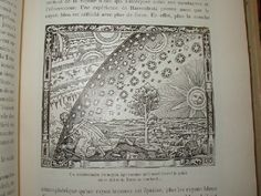 """The 1888 edition of L'Atmosphere is the first known occurrence of the famous woodcut that has often been thought to date from the 15th or 16th centuries. Joseph Ashbrook, in his book """"The Astronomical Scrapbook"""", makes the case for the woodcut originating with Camille Flammarion."""