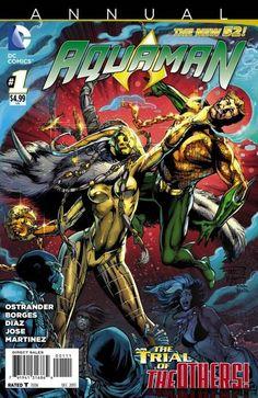 Comic Book Review: 'Aquaman Annual' #1