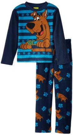 Scooby Doo Big Boys  2 Piece Fleece Sleep Set fb09a90d7