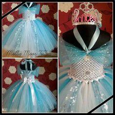 b3edccadba Elsa Frozen Party Tutu Dress 1-12 years ~ Custom made