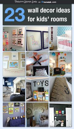 23 Wall Decor Ideas for Kids' Rooms