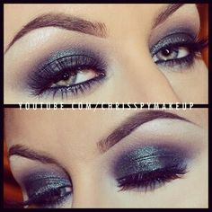 Find images and videos about fashion, beautiful and pretty on We Heart It - the app to get lost in what you love. Sexy Makeup, Love Makeup, Makeup Tips, Makeup Looks, Hair Makeup, Makeup Ideas, Grey Smokey Eye, Makeup Tattoos, Eyes