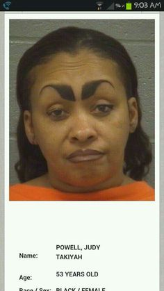 Never let a person with bad eyebrows tell you shhhh