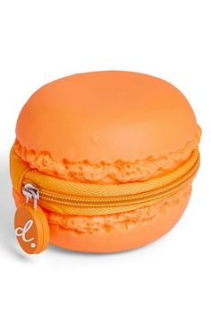 PIQ Products Orange Macaron Coin Purse available at #Nordstrom I want!!!