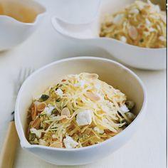 Yummy yum yum - Warm Spaghetti-Squash Salad - Most Popular Vegetable Dishes from Food & Wine Wine Recipes, Pasta Recipes, Salad Recipes, Cooking Recipes, Recipe Pasta, Cooking 101, Entree Recipes, Cookbook Recipes, Light Recipes