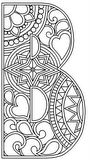 ClickNColour - Colouring-in (Coloring) Artwork Downloads - Alphabet