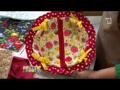 Vida com Arte | Porta pão por Kátia Martinelli - 02 de março de 2016 - YouTube