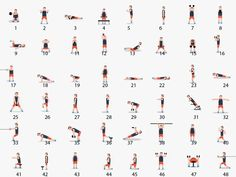 Here Are 48 Body weight Exercises That Will Help You Meet All Your Fitness Goals! 🍑💪 Here Are 48 Body weight Exercises That Will Help You Meet All Your Fitness Goals! 🍑💪 Healthy Motivation : Ici, vous avez l'un . Fitness Workouts, Fitness Herausforderungen, Fitness Goals, Fun Workouts, At Home Workouts, Enjoy Fitness, Mens Fitness, Health Fitness, Weekly Workout Plans