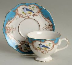 Your Favorite Brands Happy Mother's Day -  Just Her Cup of Tea Footed Cup & Saucer Set