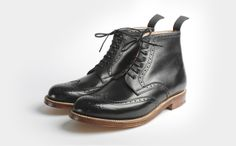 These boots are made for the groom attire!  ALFRED GRENSON BOOTS