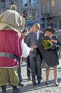 La reine Maxima et le roi Willem-Alexander des Pays-Bas dans le…