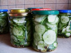 A simple salad preserved for the winter ... salad with cucumbers