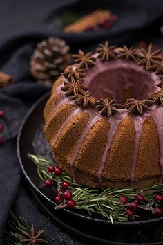 Gewürzgugelhupf Panna Cotta, Food And Drink, Baking, Ethnic Recipes, Christmas, Biscuits, Sweet Desserts, Chocolate Candies, Red Wine