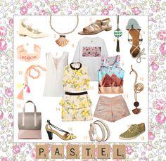 """Cette semaine, Mélody partage avec vous sa sélection presse """"Pastel"""", 100% marques Babbler.  Tous les visuels HD et infos sont en ligne sur la plateforme.  Pour la poker : melody@babbler.fr."""