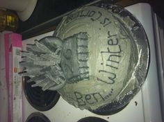Game of thrones birthday cake!!!