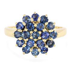 Bague en or et Saphir bleu - un chef d'œuvre exceptionnel réalisé dans les règles de l'art. Une pièce unique, en exclusivité chez Juwelo.