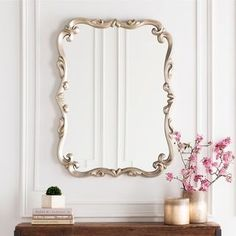 Elegant Home Decor, Elegant Homes, Mirrors For Sale, Mirror Shapes, Beautiful Mirrors, Wall Mounted Mirror, Burke Decor, Home Decor Trends, Decor Ideas