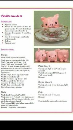 My eye has been drawn to crochet bunny patterns over and over lately- probably because it is starting to show signs of spring! Amigurumi Kawaii Bunny - FREE Crochet Pattern / Tutorial in Spanish - Salvabrani Ravelry: Jenny the Bunny, free Discover thousan Crochet Pig, Kawaii Crochet, Crochet Amigurumi Free Patterns, Crochet Animal Patterns, Crochet Doll Pattern, Crochet Gifts, Cute Crochet, Crochet Animals, Crochet Dolls