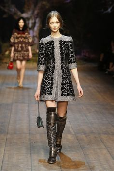 Runway Fall/Winter 2015 D&G