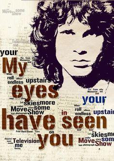 Music Poster The Doors Singer Jim Morrison Music fine by Artistico, $29.00