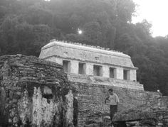 Winter Solstice Sunset at the Temple of the Inscriptions,  Palenque, Chiapas (Image Credit: Alsonso Mendez)
