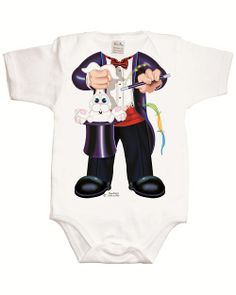 Just Add a Kid 'Magician' Bodysuit available online at http://www.babycity.co.uk/
