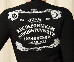 Hell Bunny Ouija Board Cardigan