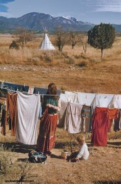Drop City hippie commune, New Mexico, 1968 by Eve Arnold