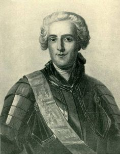 François-Gaston de Lévis, Duc de Lévis (1719-1787) - He was the Marquis de Montcalm's second-in-command during the Seven Years' War, and took charge of the French forces in Canada after the Battle of the Plains of Abraham. Although he defeated the British at the Battle of Sainte-Foy in 1760, he was ultimately forced to surrender to them in Montreal later that same year.