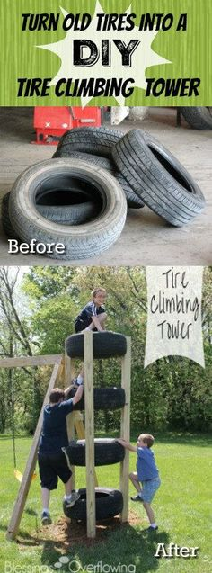 Turn Old Used Tires