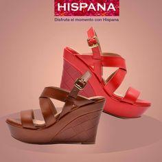 #plataformas #shoes #zapatos #moda #estilo #rosa #café #glamour #Hispana