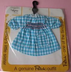 Gingham dress for Patch