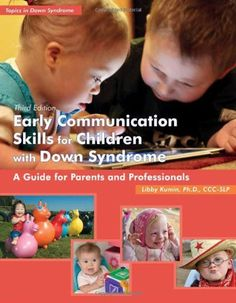 Early Communication Skills for Children with Down Syndrome: A Guide for Parents and Professionals (Topics in Down Syndrome) by Libby Kumin, http://www.amazon.com/dp/1606130668/ref=cm_sw_r_pi_dp_R4mtrb134E7DW  (Baby Ellie on the cover!)