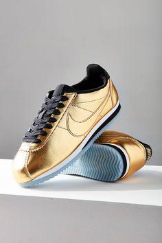 8aa498ccb157 Nike Classic Cortez Metallic Leather Sneaker