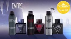 Nossa linha de desodorantes masculino da EMPIRE já chegou com tudooo!!! Confira agora a novidade