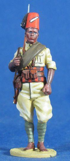 WW 085 PRIVATE 2 66 TH ERITREAN COLONIAL BN, ITALIAN ARMY 2