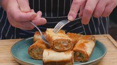 Roladki ziemniaczane / Oddaszfartucha - YouTube Potato Dishes, Lunch Recipes, Pork, Appetizers, Make It Yourself, Meat, Dinner, Cooking, Youtube