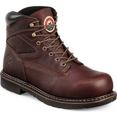 Irish Setter Men's Farmington 6 in Steel Toe Work Boots (Brown, Size 15) - Lace St Work Boots at Academy Sports