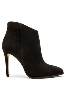 Just bought em.  I have serious shoe problems. Vince Camuto Lorenza Bootie in Black
