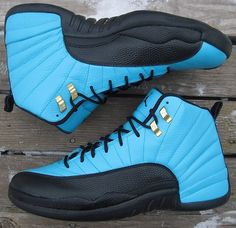 Air Jordan 12 Reverse Gamma Customs By KSM Custom Kicks