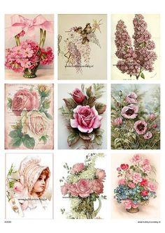 vintage knipvel 30 flowers Welkom bij Hobbyvoordelig online