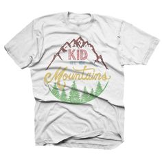 Our Kid You'll Move Mountains design is a nod to our favorite Dr. Seuss quote, sketched out for the go-getters, the dreamers and the do-ers.  www.finfirstmb.com