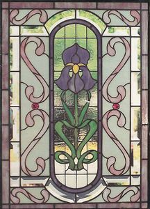 1000 images about stained glass on pinterest window for Decorative window film stained glass victorian